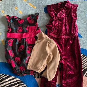12-18 month girl clothes bundle SWIPE>>>